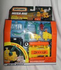 Matchbox Mega Rig Rescue Shark Patrol - Mattel 1998 - Rare Htf New and Sealed