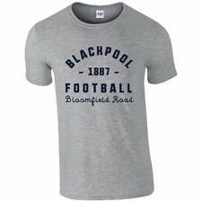 Blackpool F.C - Personalised Mens T-Shirt (VINTAGE STADIUM)