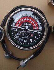 Massey Ferguson Tachometer With Cable Fits Mf35mf50mf65mf135mf150 Tractor