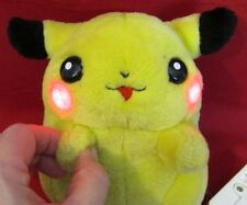 VINTAGE 1998 NINTENDO POKEMON PIKACHU ELECTRONIC TALKING & LIGHT-UP PLUSH DOLL