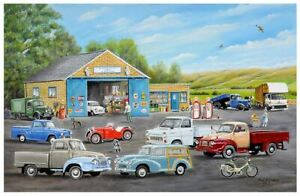 Roy Didwell The Old Garage 1000 Piece Jigsaw Puzzle 690mm x 480mm (jg)