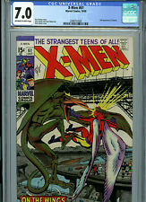 X-Men #61 1969 CGC 7.0 2nd Sauron Silver Age Marvel Comics k9