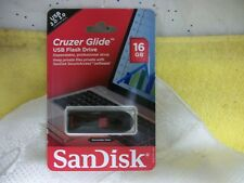 SanDisk® Cruzer Glide™ USB 2.0 Flash Drive, 16 GB