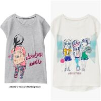 NWT GYMBOREE Girls Easy Short Sleeve Graphic Tees SELECT SIZE & PATTERN