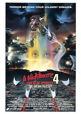 A Nightmare On Elm Street 4 - The Dream Master - A4 Laminated Mini Movie Poster