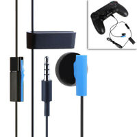 EG_ Single In-Ear Clip-On Earphone Headphone for Sony Playstation PS4 Handle Rak