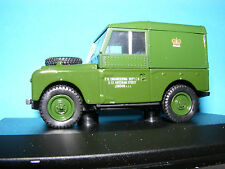 "Land Rover Series1 88""Hardtop P.O. Engineering  an Oxford 1:43 rd. Scale Series"