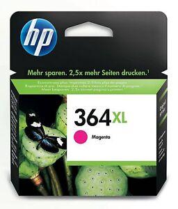 Original & Genuine HP 364XL Magenta high capacity Ink Cartridge (CB324EE)