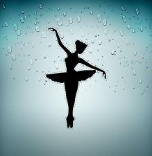 Decal sticker vinyl decor room wall bedroom ballerina art dance r2 kids girl