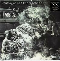 Rage Against The Machine  s/t LP XX 20th Anniversary Explicit sealed new record