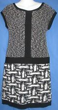 Women's Ann Taylor Dress Sleeveless Black and White Size 2