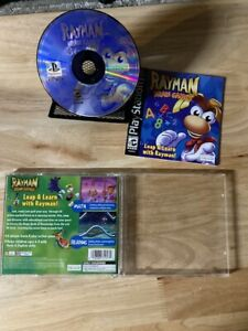 Rayman Brain Games PS1 Playstation 1 PS1 In box