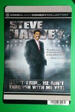 STEVE HARVEY GREY DON'T TRIP HE COVER ART MINI POSTER BACKER CARD (NOT a movie)