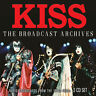 KISS : The Broadcast Archives: Radio Broadcasts from the 1970s-1980s CD Box Set