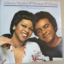 vinyl LP JOHNNY MATHIS + DENIECE WILLIAMS that's what friends are for 1978