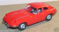 MICRO WIKING HO 1/87 JAGUAR TYPE E ROUGE no box