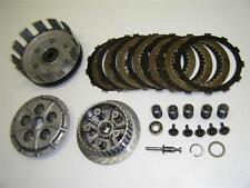 82 83 KAWASAKI KLT250 KLT 250 200 PRAIRIE MOTOR ENGINE PLATES HUB BASKET CLUTCH