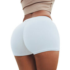 Womens Gym Yoga Shorts Butt Lift Sports Fitness Stretch Hot Pants Mini Shorts