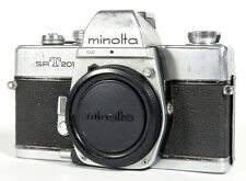 MINOLTA SRT 201 BODY W/ ORIGINAL BODY CAP
