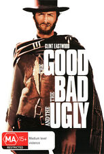 THE GOOD BAD AND UGLY Clint Eastwood Eli Wallach NEW DVD (Region 4 Australia)