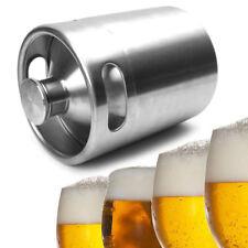 2L Homebrew Growler Keg Stainless Steel Beer Home Brewing Making Bar Tool New