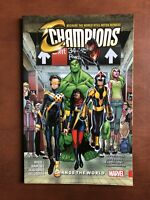 Champions Change the World Vol. 1 Softcover Marvel Graphic Novel Comic Book
