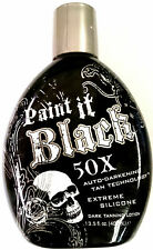Millennium Paint it Black 50X Dark Bronzer Indoor & Outdoor Tanning Bed Lotion