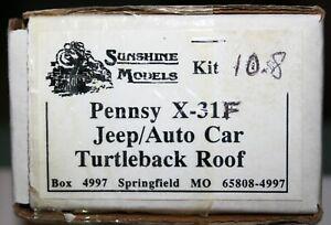 SUNSHINE MODELS KIT # 10.8 JEEP/ AUTO CAR