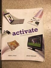 Activate: College Reading by Leslie  Taggart Paperback Instructor's Edition
