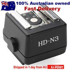 HD-N3 Flash Hot Shoe Adapter For Sony A55 A33 A100 A350 A390 A700 A900 FS-1100
