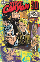 3-D STEVE CANYON #1 (1986) Kitchen Sink Comics no glasses FINE