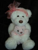 Gund Mommy & Baby Bear Plush Toy Moma's Love #4977