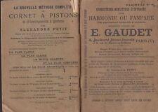 HARMONIE OU FANFARE - CONDUCTEURS - E. GAUDET - PARTITIONS