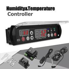 YK-302 12V Digital Temperature Humidity Controller Thermostat Hygrostat Sensor