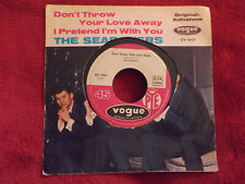 The Searchers - Don´t throw your love away / I pretend I´m ...   German Pye 45