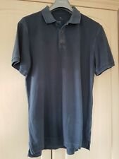 GAP Men's Steel Blue Polo Shirt