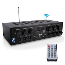 Bluetooth Home Audio Amplifier,2-Ch.Audio Source Stereo Receiver Sys w/FM Radio
