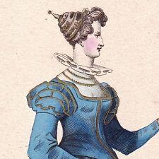 Portrait Antoinette de Pons Ribérac comtesse de La Roche-Guyon Guercheville