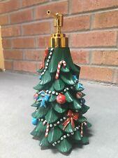 NWT Croscill Christmas Tree Snow Holiday Winter Soap Dispenser - Decor Gift