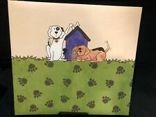C.R. Gibson Memory Book Pre Decorated Pages Dog Theme 12 x 12 Pages