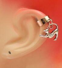 Silver Cat Charm Drop/Dangle Ear Cuff Handmade Jewelry Accessories NEW Fashion