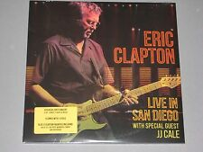 ERIC CLAPTON Live in San Diego w. JJ Cale 3 LP  New Sealed Vinyl