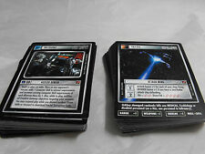 STAR TREK CCG BLAZE OF GLORY COMPLETE COMMON AND UNCOMMON SET