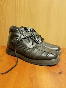 Black Icon Super Duty Boots - Mens Size 12 Motorcycle Riding Boots Superduty