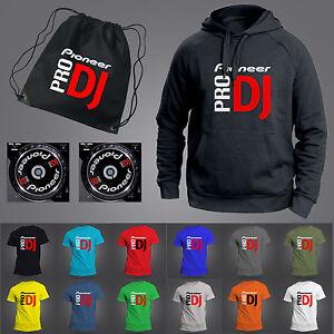 PIONEER PRO DJ GIFT SET - HOODY · T-SHIRT · JOG GRAPHICS · STICKERS · BAG - CDJ