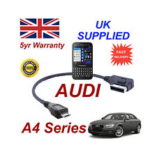 AUDI A4 Séries 4F0051510M Câble pour BLACKBERRY Q5 MICRO USB Acoustique