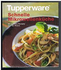 4 Tupperware Kochbücher,Mikrowellen + Backofenküche,Asiatisch m. dem Wok,NEU,OVP