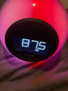 iHome Digital Alarm Clock FM Radio COLOR CHANGING
