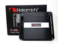 Nakamichi PL-290 High Power 2 Channel Class A/B Car Stereo Amp Amplifier 1200W