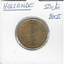 HOLLANDE (PAYS-BAS) 2005 50 CENTIMES SUP